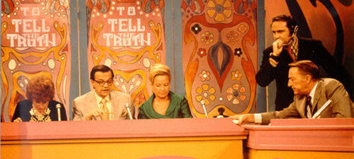Peggy Cass Bill Cullen Garry Moore To Tell the Truth