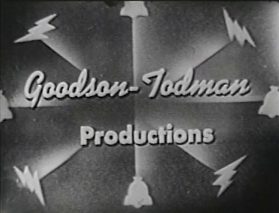 Mark Goodson Bill Todman Productions 1950 logo