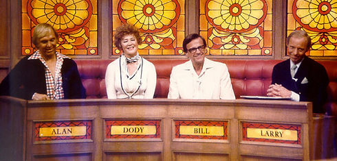 Alan Sues Dody Goodman Bill Cullen Larry Hovis Liars Club game show
