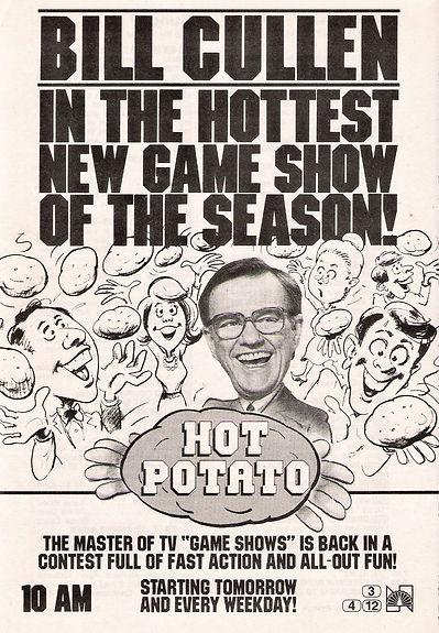 Bill Cullen Hot Potato TV Guide ad