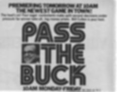 Pass the Buck TV Guide ad Bill Cullen