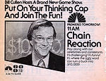 Bill Cullen Chain Reaction TV Guide
