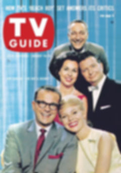 TV Guide Bill Cullen Betsy Palmer Bess Myerson Henry Morgan Garry Moore