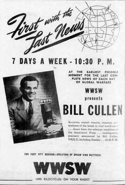 Bill Cullen WWSW