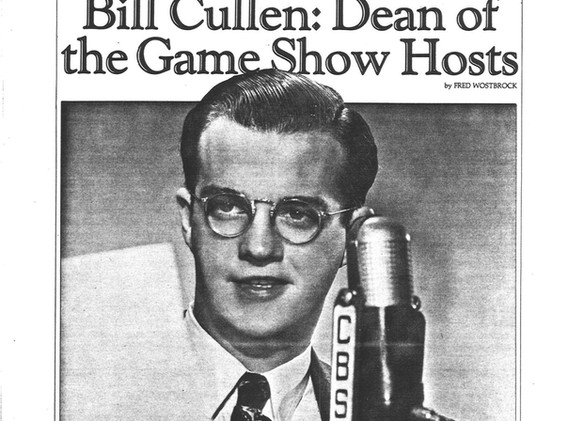 Game shows were ubiquitous in 1986 to merit a niche publication, TV Game Show Magazine! Fred Wostbrock penned a profile of Bill. Despite the optimistic ending, Bill was fully retired by the time this article ran.