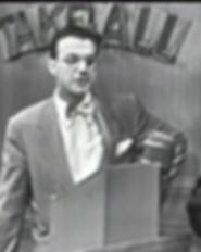 Winner Take All NBC 1952 Bill Cullen