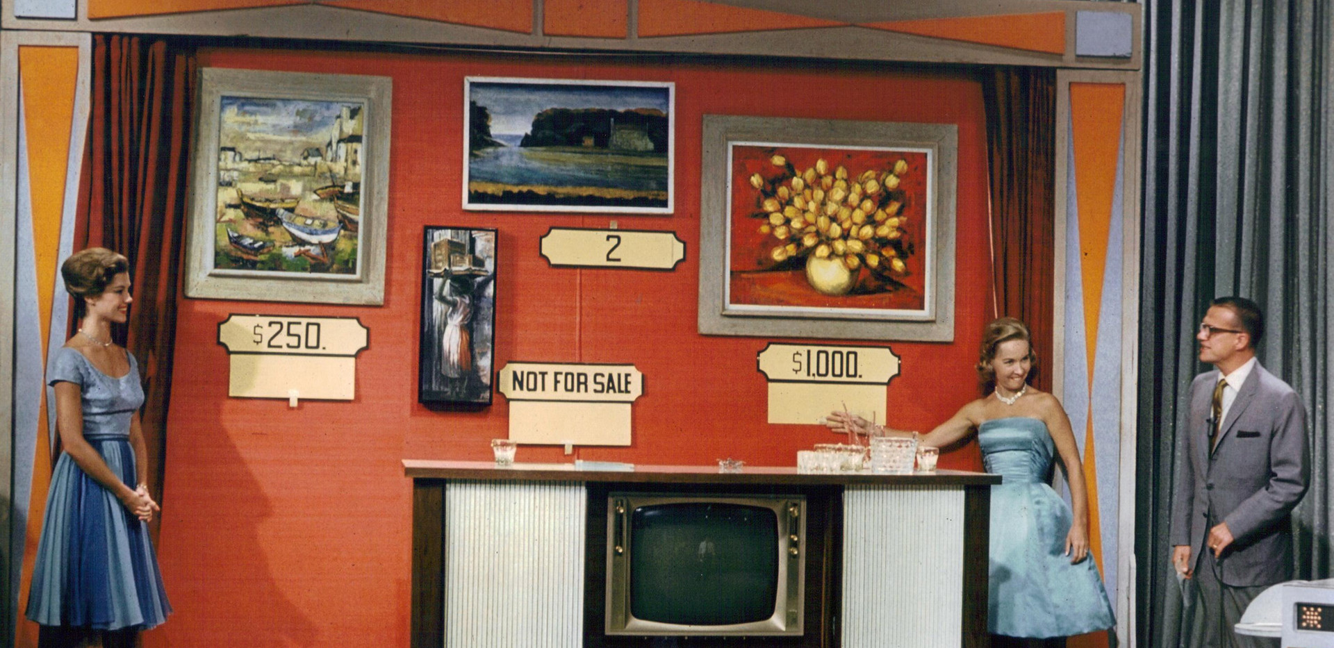 "Ann's painting from this trip was later used in a game on ""The Price is Right."" It's the painting labeled NOT FOR SALE."