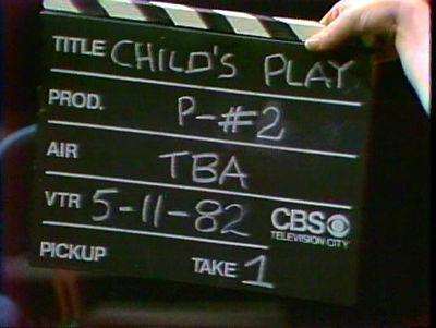 Child's Play Bill Cullen pilot