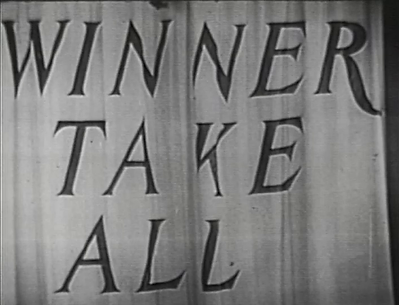 Winner Take All Bill Cullen CBS 1950