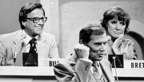Bill Cullen Gene Rayburn Brett Somers Match Game show
