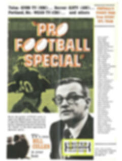 Pro Football Special Bill Cullen