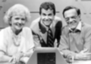 Betty White Dick Clark Bill Cullen $25,000 Pyramid game show