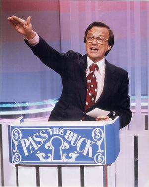 Pass the Buck Bill Cullen at podium 1978
