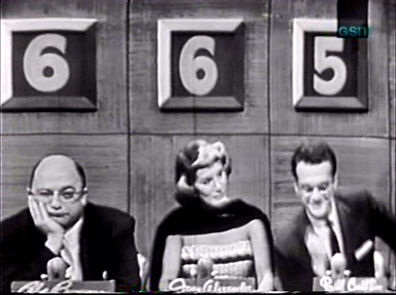 The Name's the Same game show Bill Cullen Abe Burrows Joan Alexander