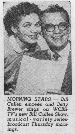 Bill Cullen Show Betty Brewer