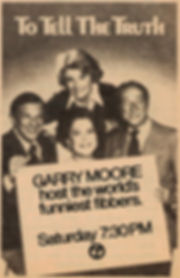 To Tell the Truth TV Guide Bill Cullen Peggy Cass, Kitty Carlisle Garry Moore
