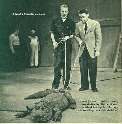 Garry Moore alligator I've Got a Secret
