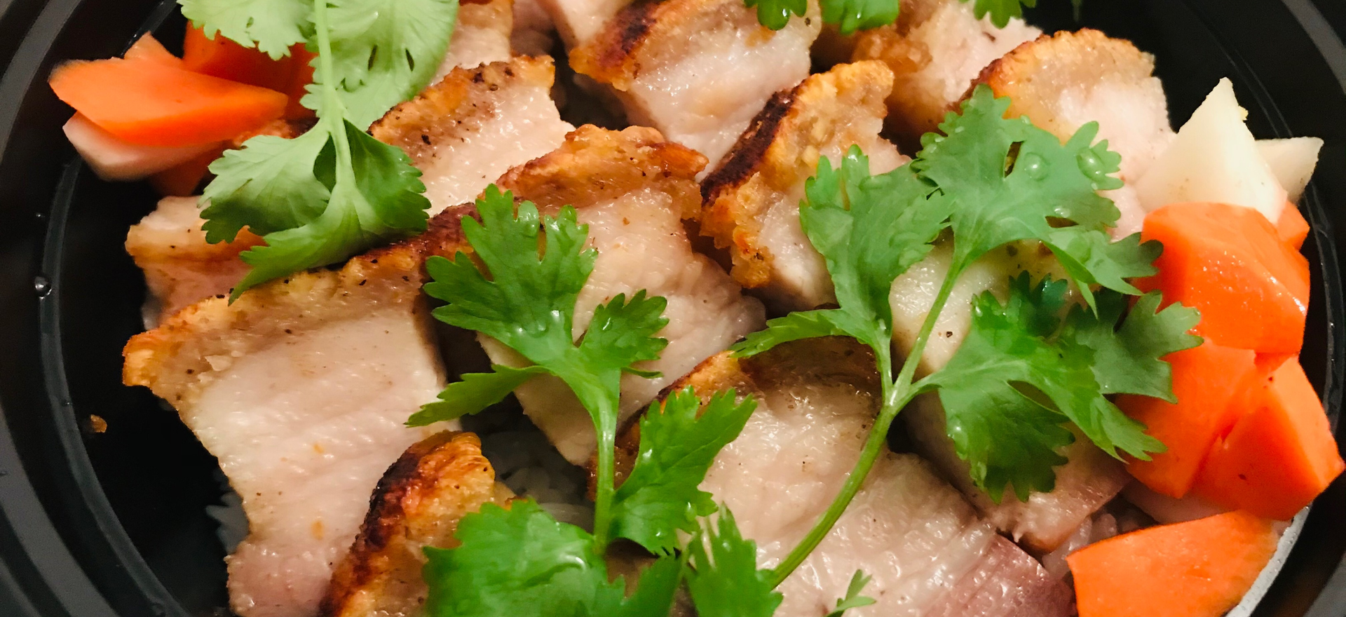 Roasted Lemongrass Pork Belly