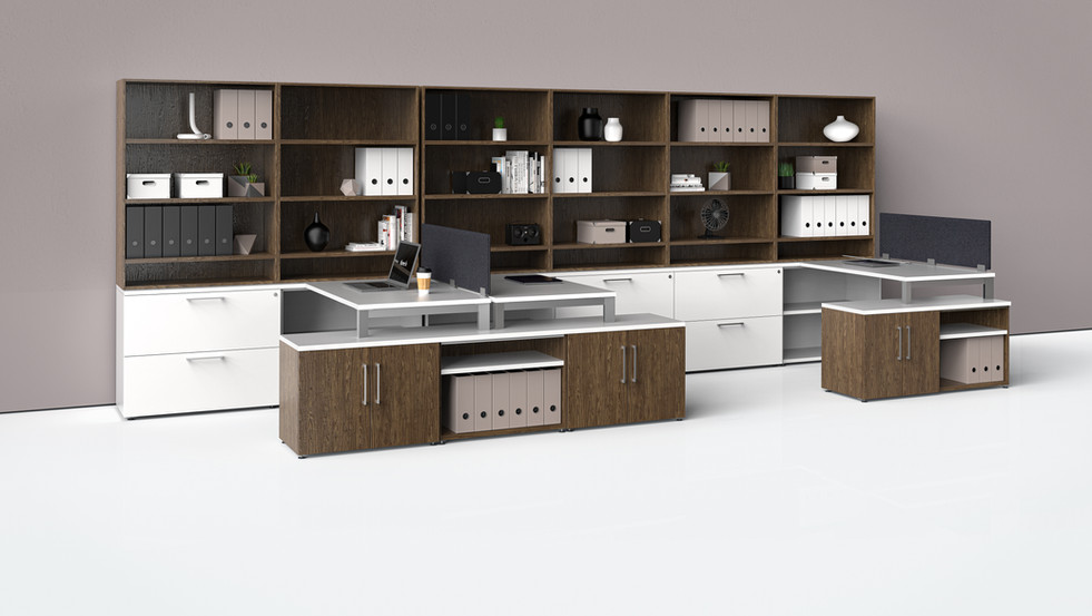 Three H Shelving, Storage and Work Integ