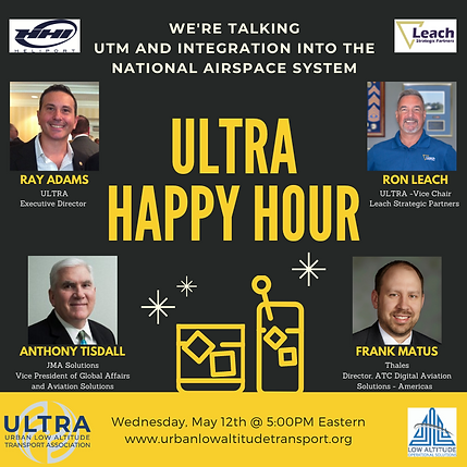 ULTRA Happy Hour ep 4 - 5-12-21 UTM and