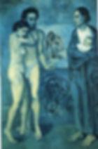 P. Picasso, La vie, 1903, olio su tela,