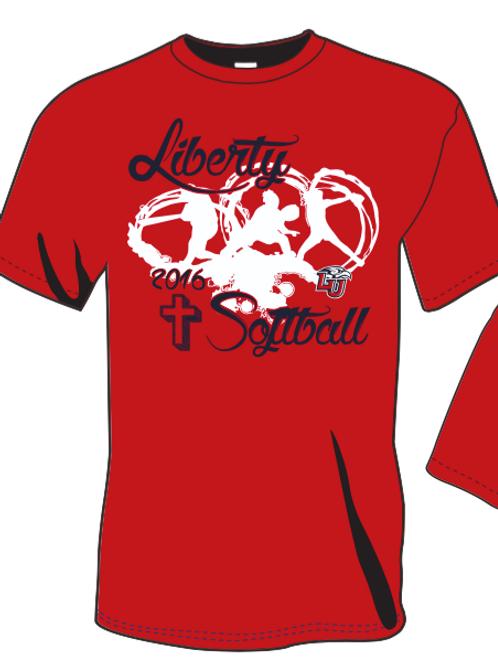 Liberty Softball 2016 Camp Shirt