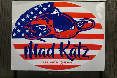 Mad Katz Decal - Patriot