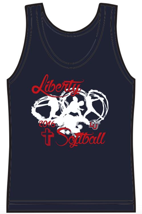 Liberty Softball Tank Top