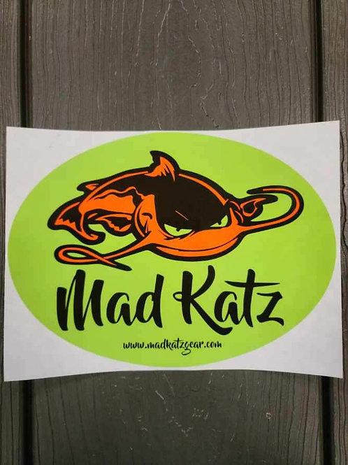 Mad Katz Decal - Orange Crush