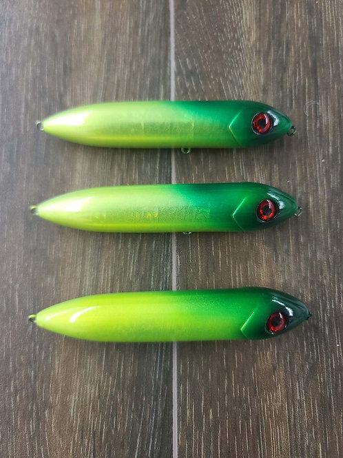 Battle Rattles - Green/Yellow