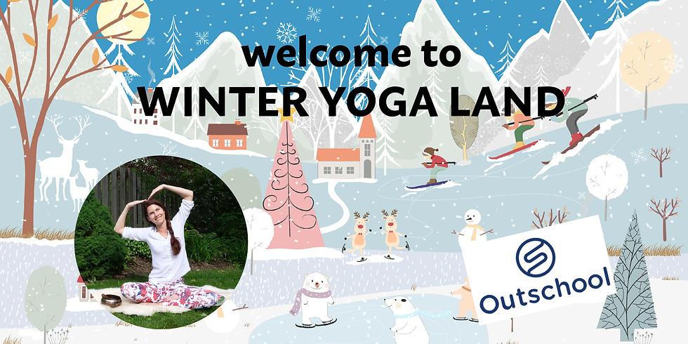Children's Yoga - Winter Yoga Land Class
