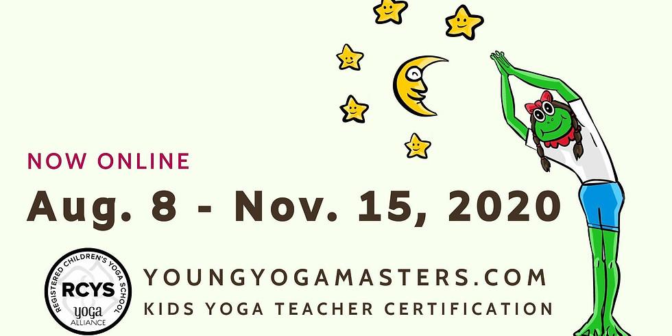Children's Yoga Teacher Training - Online