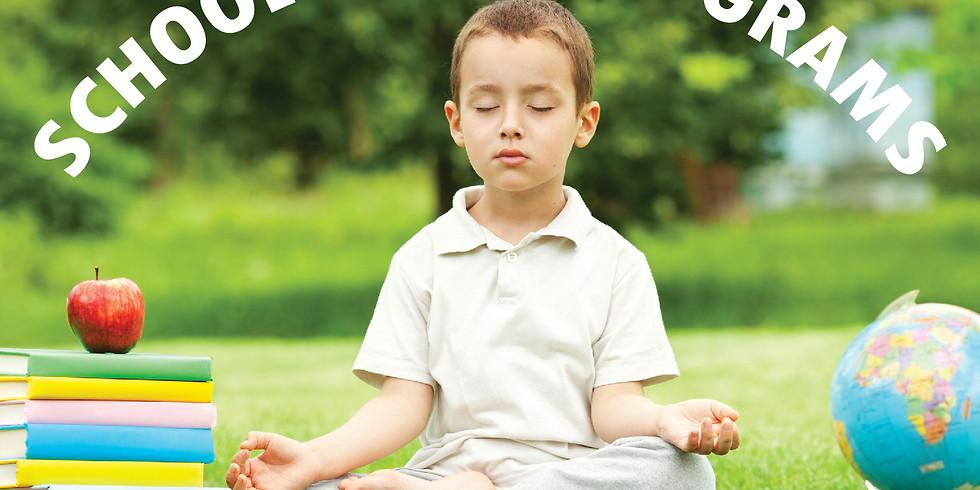 Yoga in my school (September 2020)