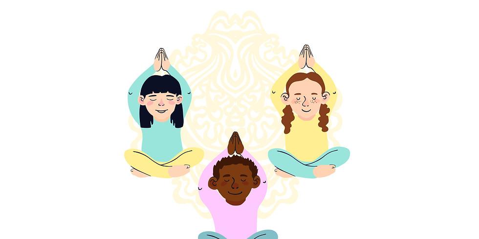 THURSDAYS @2pm - Children's Yoga - May Zoom classes