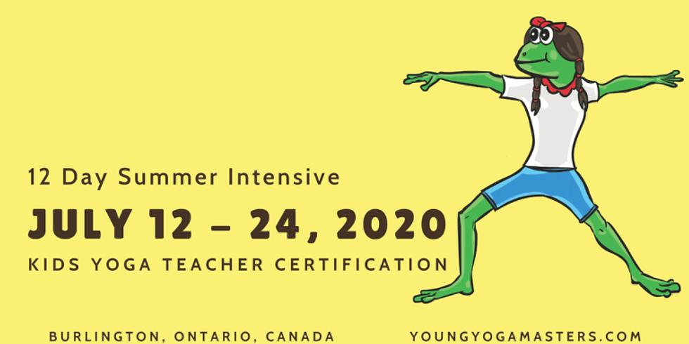 Kid's Yoga Teacher Training - Summer 2020