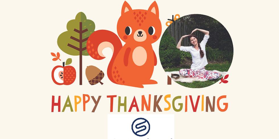 Thanksgiving Yoga for Children
