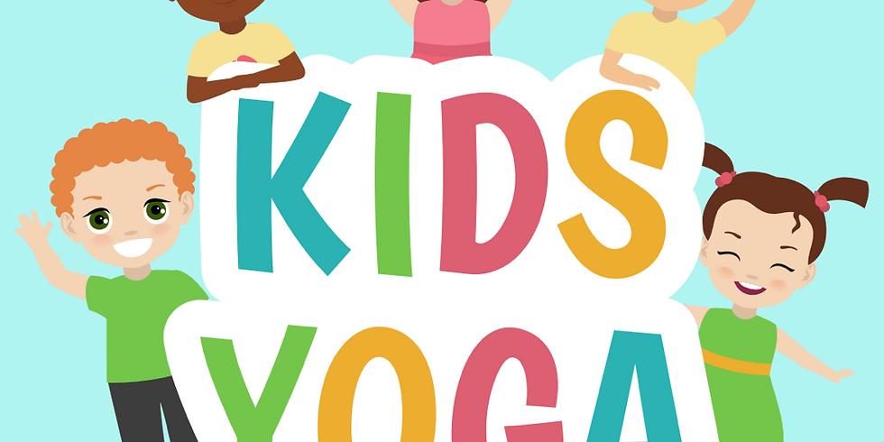 MONDAYS @2pm - Children's Yoga - Zoom class