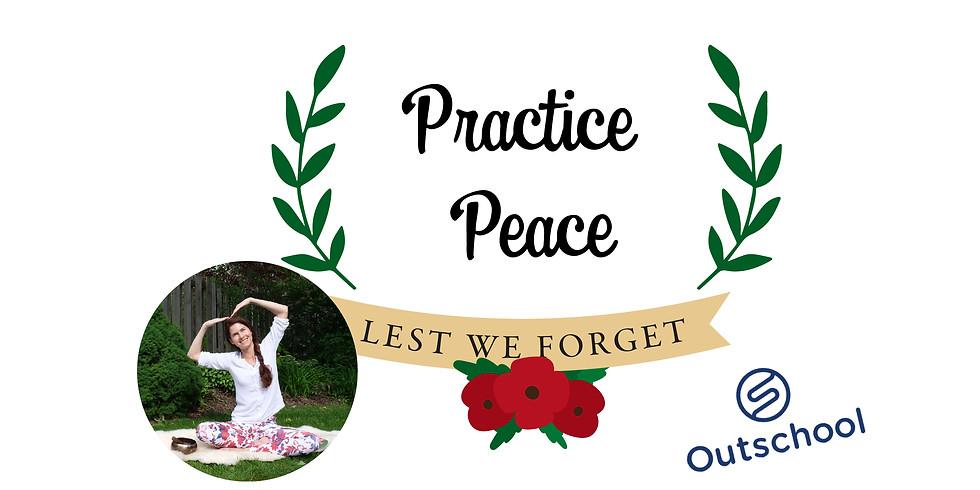 Practice Peace - Children's Yoga Class