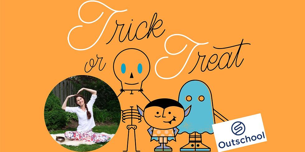Trick or Treat Halloween Yoga