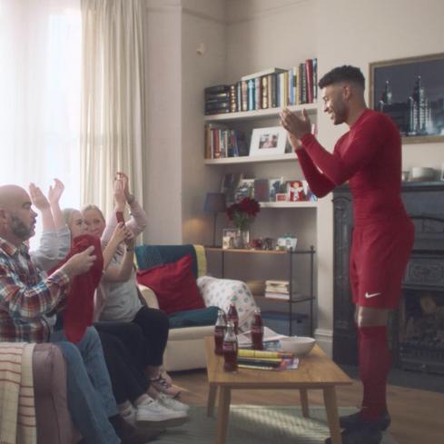 Coca-Cola | The Home End | Alex Oxlade Chamberlain