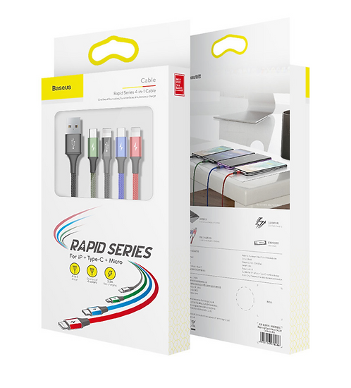 4 Plugs Cable