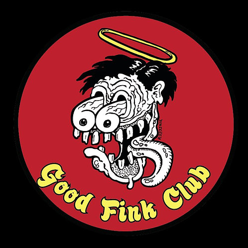 """""""Good Fink Club"""" logo tee - Front Print Only"""