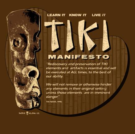 TIKI Manifesto design