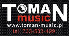 Logo TOMAN music nagłośnienie