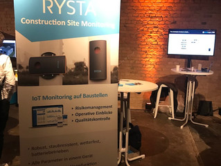 Rysta at Tech in Construction | Berlin | 15th - 16th November 2019