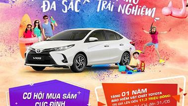 Sở hữu ngay Toyota Vios chỉ từ 95 triệu đồng
