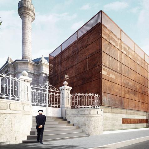 Erenköy Zihnipaşa Cami Ek Yapısı