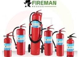 (B)ถังดับเพลิง ชนิดผงเคมีแห้ง 15 ปอนด์ 4A-5B FIREMAN