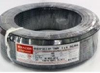 สายไฟ IEC 01 THW 1x6 Sq.mm.100M./ม้วน สีดำ เรเซอร์