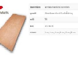 ไม้อัดเกรด เฟอร์นิเจอร์ ขนาด 15x1220x2440 mm (WY-SA15) เลท60แผ่น (รหัสช้ำ CO0089